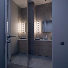 Фото из портфолио Мосфильмовская – фотографии дизайна интерьеров на INMYROOM