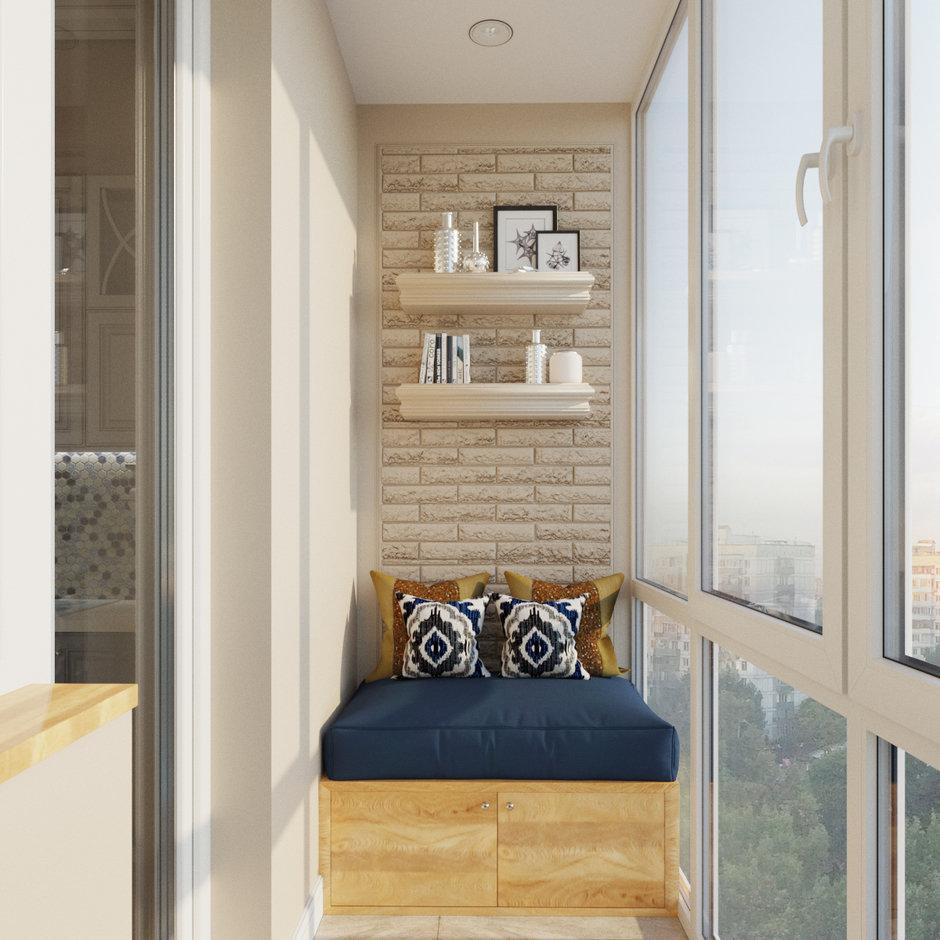 Как сделать балкон удобным и функциональным.