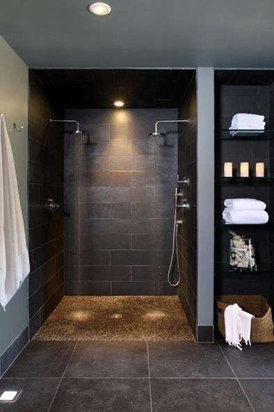 Фотография: Ванная в стиле Лофт, Минимализм, Мебель и свет, Советы, Ремонт на практике – фото на InMyRoom.ru