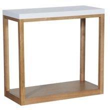 Дизайнерская Консоль деревянная