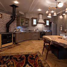 Фотография: Кухня и столовая в стиле Эклектика, Эко, Квартира, Проект недели – фото на InMyRoom.ru