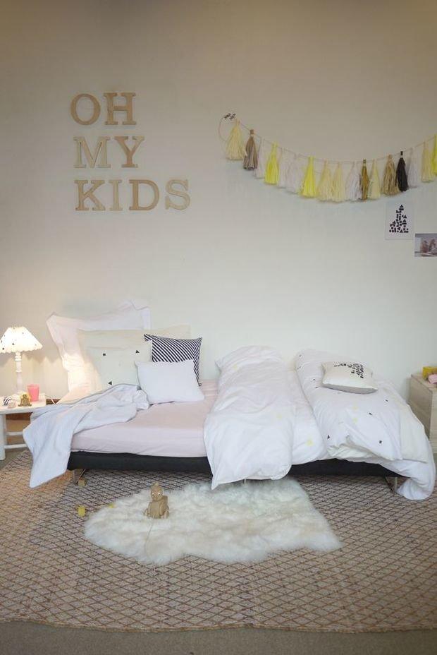Фотография: Детская в стиле Скандинавский, Декор интерьера, Интерьер комнат, Обои – фото на InMyRoom.ru