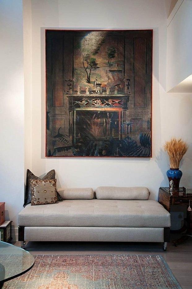 Фотография: Мебель и свет в стиле Восточный, Классический, Современный, Декор интерьера, Декор дома, Цвет в интерьере, Советы, Картина, Неоклассика – фото на InMyRoom.ru