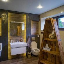 Фото из портфолио Дом с водопадом – фотографии дизайна интерьеров на InMyRoom.ru