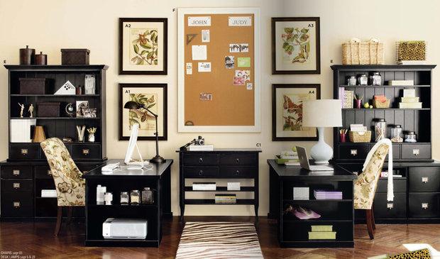 Фотография: Офис в стиле Прованс и Кантри, Декор интерьера, Хранение, Стиль жизни, Советы – фото на InMyRoom.ru