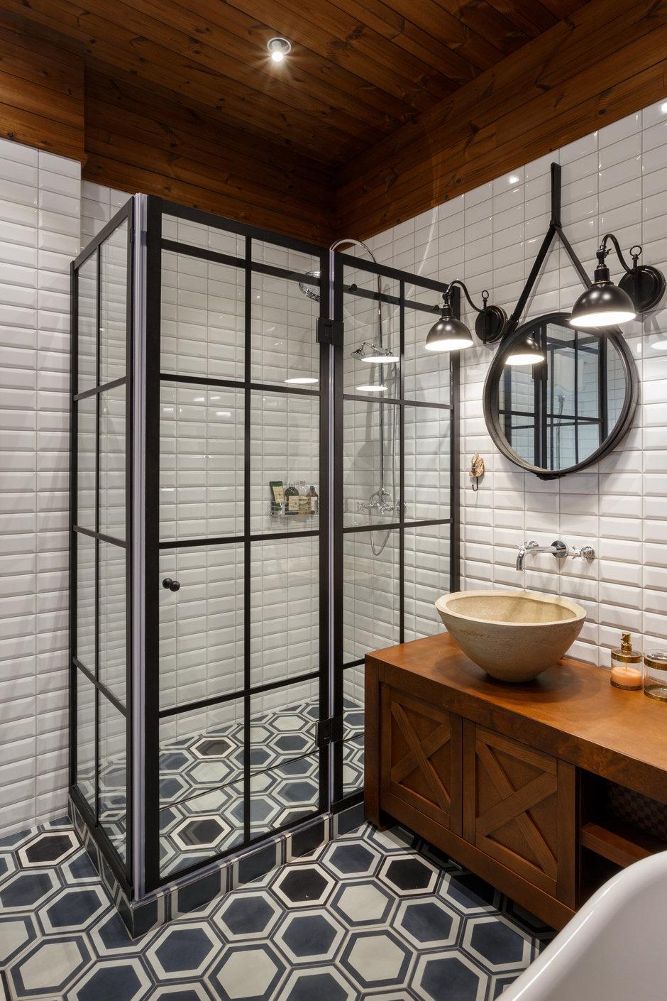 Фотография: Ванная в стиле Лофт, Квартира, Проект недели, Денис Соколов, SVOYA STUDIO – фото на InMyRoom.ru