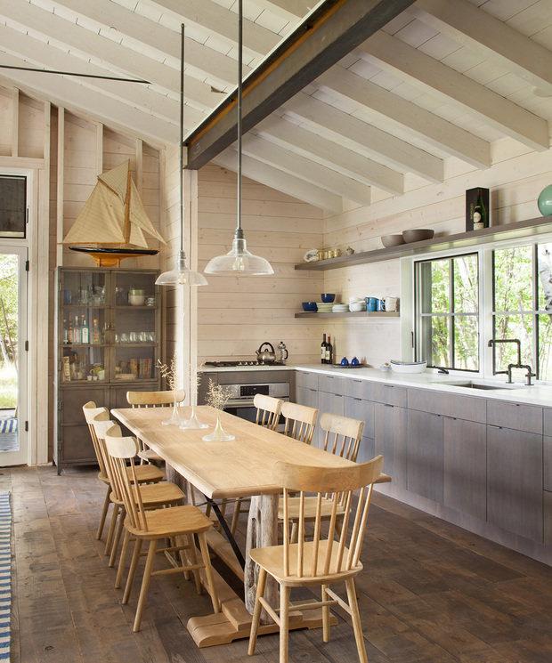 Фотография: Кухня и столовая в стиле Эко, Декор интерьера, Дом, США, Дача, Коричневый – фото на InMyRoom.ru