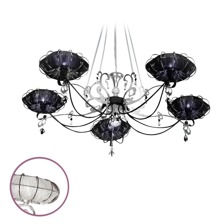 Купить Подвесная люстра Dream Bellartс абажурами белого цвета, inmyroom, Италия