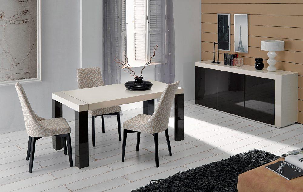 Купить Обеденная группа из раскладного стола Ibanez и трех стульев Sandra, inmyroom, Китай