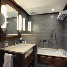 Фотография: Ванная в стиле Кантри, Дом, Дома и квартиры, Городские места, Отель, Дом на природе – фото на InMyRoom.ru