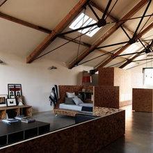 Фотография: Гостиная в стиле Лофт, Австралия, Дизайн интерьера, Минимализм, Переделка – фото на InMyRoom.ru