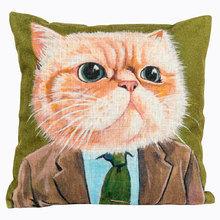 Декоративная подушка «Живой уголок», версия 7