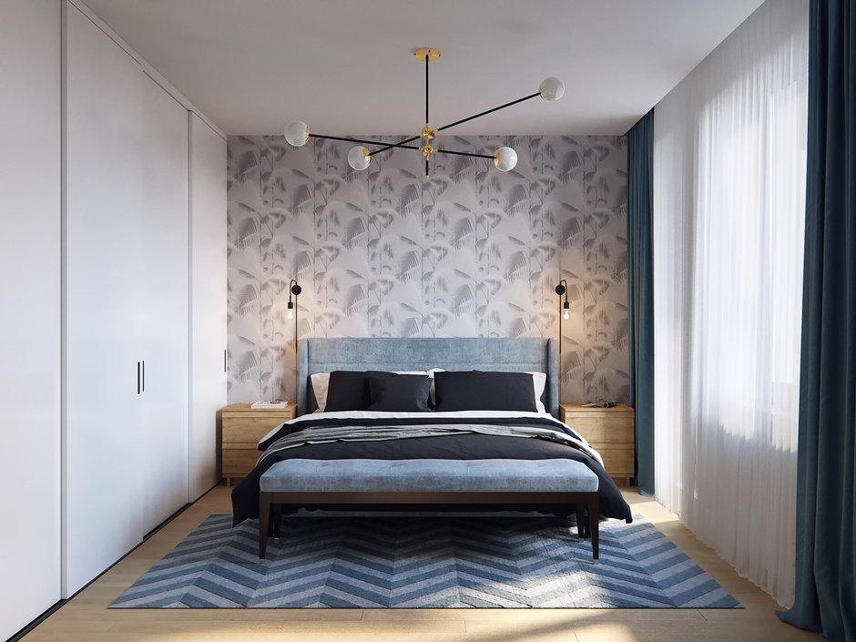 Фотография: Спальня в стиле Современный, Квартира, Проект недели, Санкт-Петербург, Никита Зуб, Монолитный дом, ЖК «Московские ворота» – фото на InMyRoom.ru