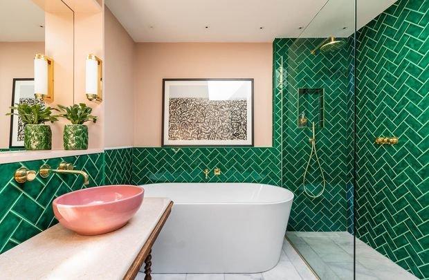 Фотография: Ванная в стиле Восточный, Knauf, Ремонт на практике, Rotband, КНАУФ Ротбанд, черновой ремонт – фото на INMYROOM