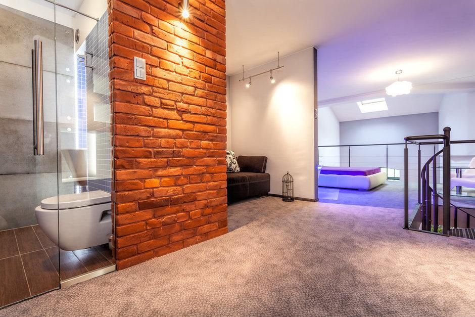 Фотография: Ванная в стиле Лофт, Современный, Декор интерьера, Квартира, Дом, Декор дома, Стена – фото на InMyRoom.ru
