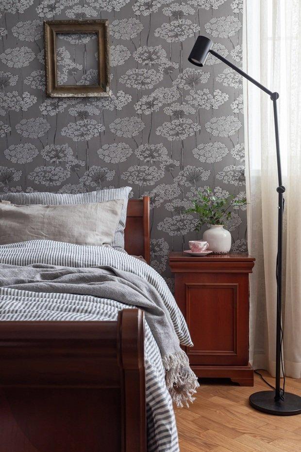 Фотография: Спальня в стиле Классический, Эклектика, Квартира, Проект недели, Москва, 3 комнаты, Более 90 метров, Наталья Яшузакова – фото на INMYROOM