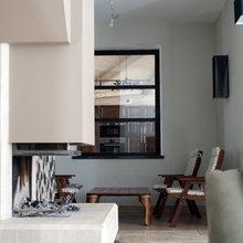 Фото из портфолио Дом с большими деревьями внутри – фотографии дизайна интерьеров на INMYROOM