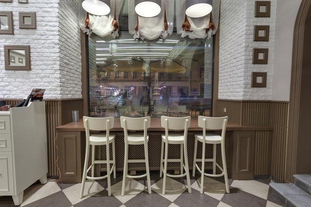 Фото из портфолио Кафе Шоколадница – фотографии дизайна интерьеров на INMYROOM