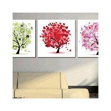 Декоративная картина на холсте: Дерево настроения