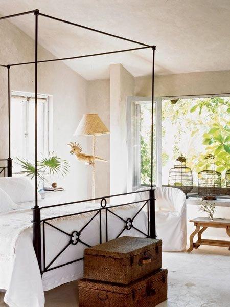 Фотография: Спальня в стиле Скандинавский, Восточный, Декор интерьера, Декор дома, Плетеная мебель – фото на InMyRoom.ru