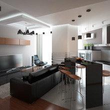 Фото из портфолио Квартира с террасой для отдыха – фотографии дизайна интерьеров на INMYROOM