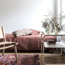 Фотография: Спальня в стиле Скандинавский, Советы, цветовая палитра интерьера – фото на InMyRoom.ru