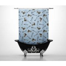 Шторы для ванной: Довольные коты