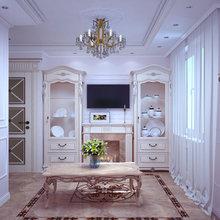 Фото из портфолио Изящный классический интерьер для современной квартиры – фотографии дизайна интерьеров на InMyRoom.ru