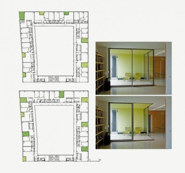 Планировка квартир, Inakasa Building