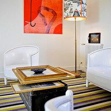 Фотография: Гостиная в стиле Скандинавский, Франция, Дома и квартиры, Городские места, Отель – фото на InMyRoom.ru