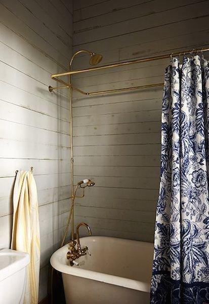 Фотография: Ванная в стиле Прованс и Кантри, Скандинавский, Интерьер комнат – фото на InMyRoom.ru