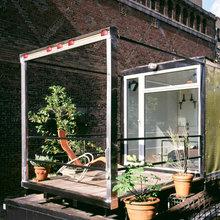 Фотография: Балкон, Терраса в стиле Лофт, Дом, Дома и квартиры – фото на InMyRoom.ru