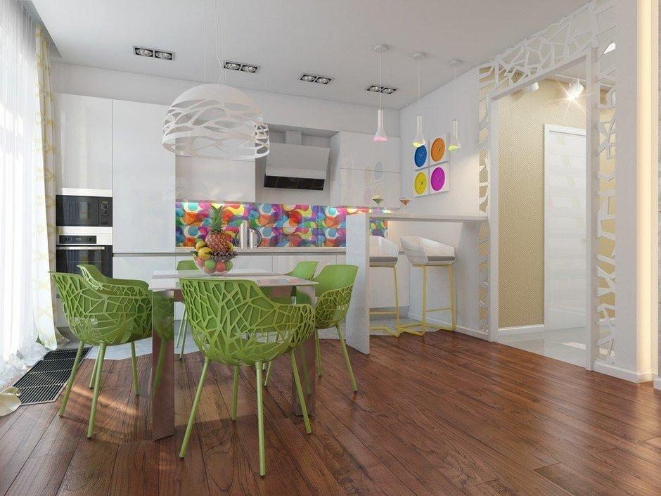 Фотография: Кухня и столовая в стиле Эклектика, Декор интерьера, Квартира, Natuzzi, Дома и квартиры, Проект недели, Moroso – фото на InMyRoom.ru