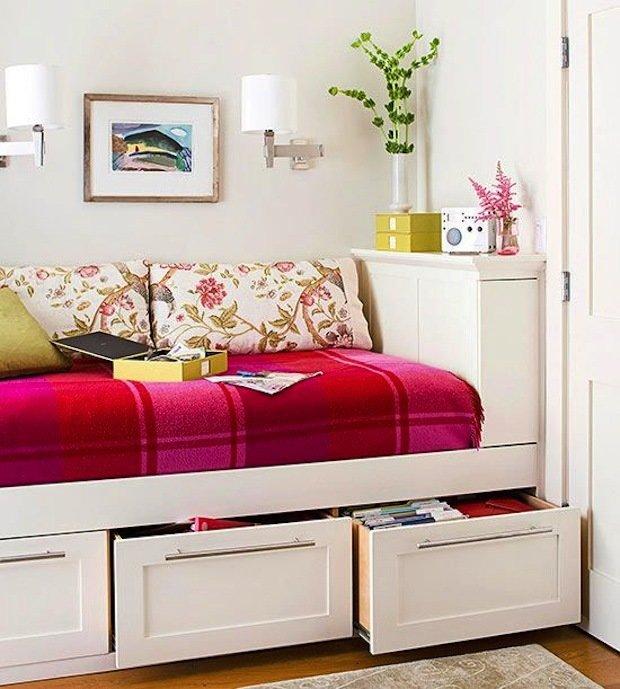 Фотография: Мебель и свет в стиле Прованс и Кантри, Малогабаритная квартира, Квартира, Дома и квартиры – фото на InMyRoom.ru