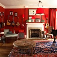 Фотография: Гостиная в стиле Эклектика, Декор интерьера, Декор дома, Советы – фото на InMyRoom.ru