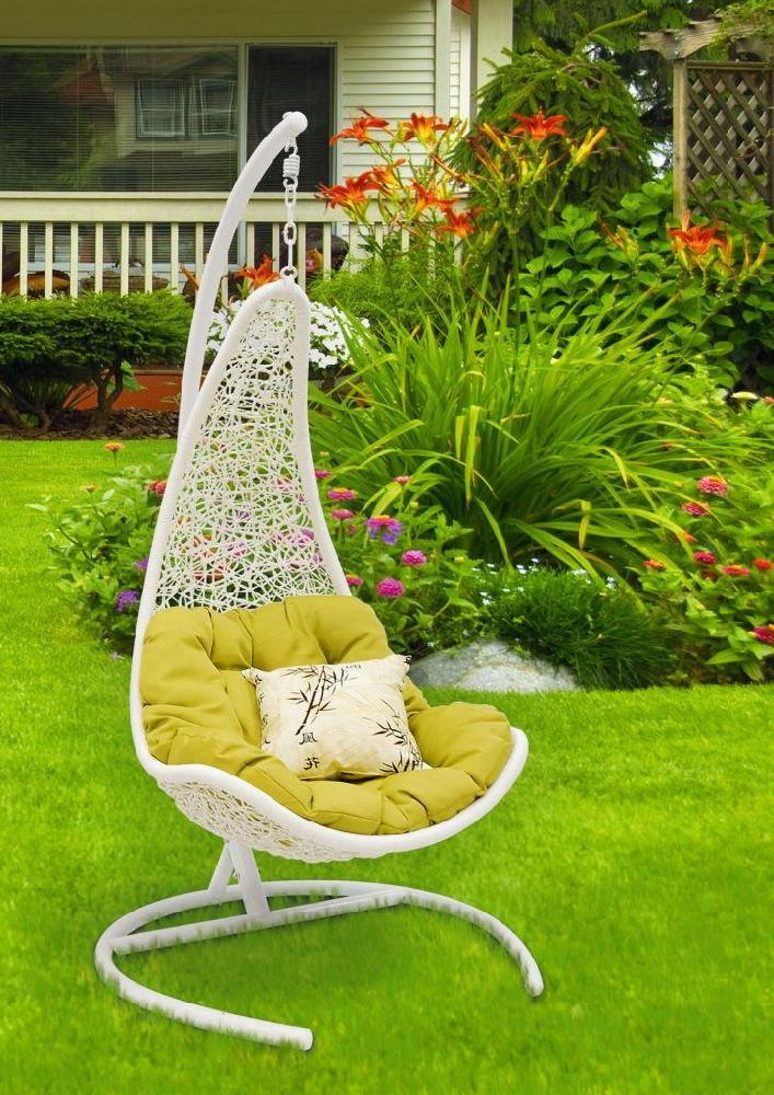 Кресло подвесное Wind White белого цвета