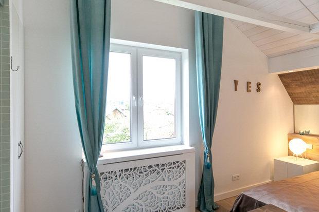 Фотография: Прочее в стиле , Интерьер комнат, Дача, Дачный ответ, Мансарда – фото на InMyRoom.ru