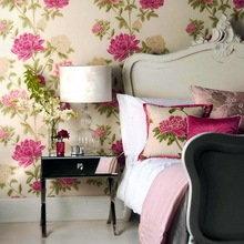 Фотография: Спальня в стиле Кантри, Декор интерьера, Декор дома, Обои, Стены, Картины, Принт, Панно, Roommy.ru – фото на InMyRoom.ru