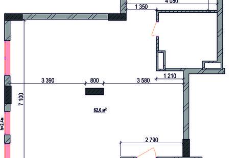 Помогите организовать трехкомнатную квартиру