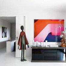 Фотография: Декор в стиле Современный, Эклектика, Квартира, Цвет в интерьере, Дома и квартиры, Желтый, Бирюзовый – фото на InMyRoom.ru