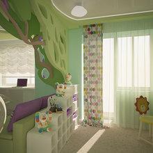 Фото из портфолио Детская для принцессы – фотографии дизайна интерьеров на INMYROOM