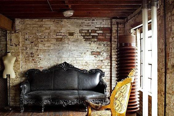 Фотография: Гостиная в стиле Прованс и Кантри, Стены, Шебби-шик, Барокко – фото на InMyRoom.ru