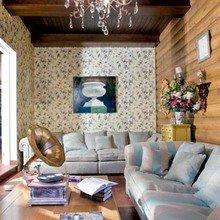 Фотография: Гостиная в стиле , Кантри, Декор интерьера, Мебель и свет, Деревенский – фото на InMyRoom.ru