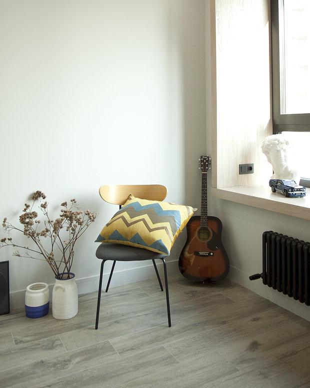 Фотография: Балкон в стиле Современный, Квартира, Проект недели, Москва, 1 комната, 40-60 метров, Аделина Шарапова – фото на INMYROOM