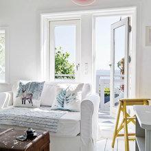 Фото из портфолио Уникальный дом у моря на скале  – фотографии дизайна интерьеров на INMYROOM