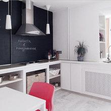 Фотография: Кухня и столовая в стиле Скандинавский, Дизайн интерьера, Ремонт, Надя Зотова – фото на InMyRoom.ru