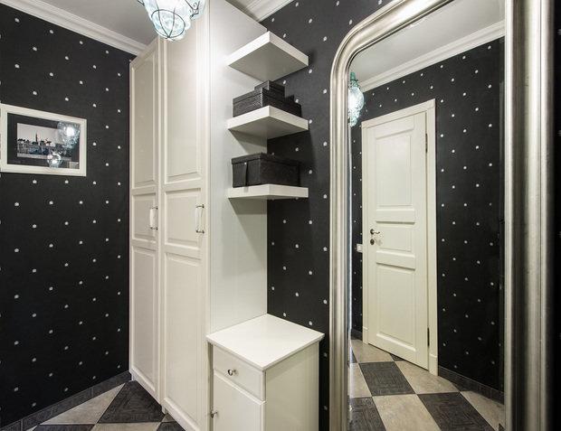 Фотография: Прихожая в стиле Современный, Классический, Малогабаритная квартира, Квартира, Декор, Дома и квартиры, IKEA, Проект недели – фото на InMyRoom.ru