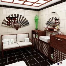 Фотография: Ванная в стиле Восточный, Классический, Скандинавский, Интерьер комнат, Марокканский – фото на InMyRoom.ru