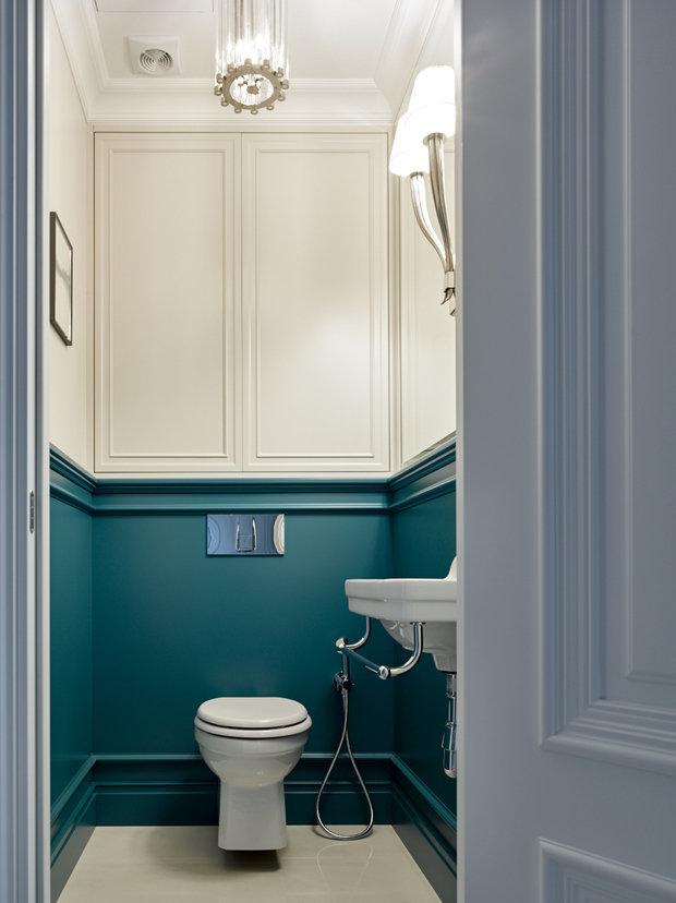 Фотография: Ванная в стиле Классический, Квартира, Проект недели, Москва, 2 комнаты, 60-90 метров, Анна Максимова, #эксклюзивныепроекты – фото на INMYROOM