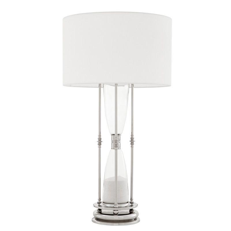 Купить Настольная лампа Eichholtz Hourglass с белым абажуром, inmyroom, Нидерланды